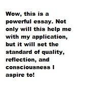 Autobiographical Statement Sample, Graduate School Psychology